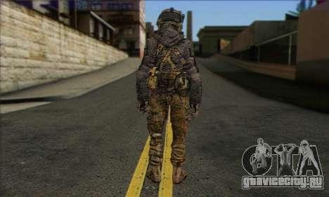 Task Force 141 (CoD: MW 2) Skin 10 для GTA San Andreas второй скриншот