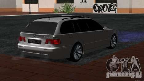 BMW 530d для GTA San Andreas вид слева