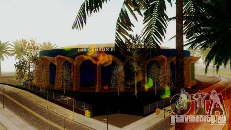 Новые текстуры стадиона в Лос-Сантосе для GTA San Andreas второй скриншот
