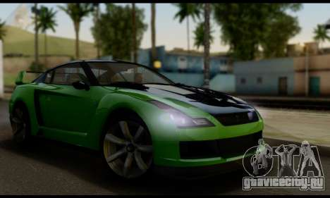 GTA V Elegy RH8 Twin-Turbo (IVF) для GTA San Andreas