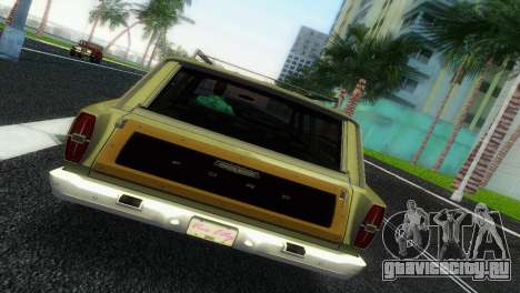 Ford Country Squire для GTA Vice City вид сзади слева