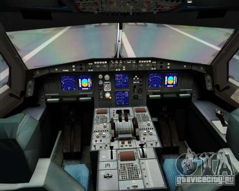 Airbus A330-300 KLM Royal Dutch Airlines для GTA San Andreas салон