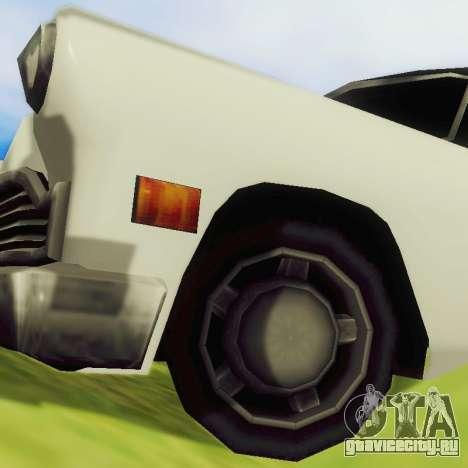 Cabbie Limousine для GTA San Andreas вид сзади
