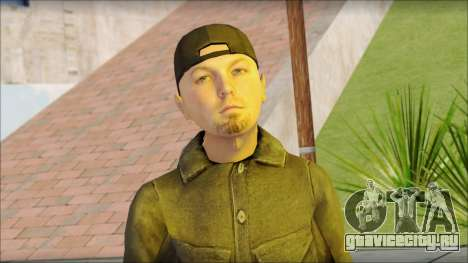 Fred Durst from Limp Bizkit v2 для GTA San Andreas третий скриншот