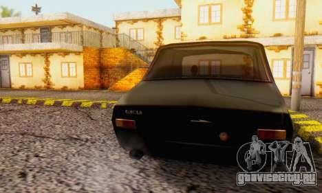 Dacia 1300 WRC Black Edition для GTA San Andreas вид слева