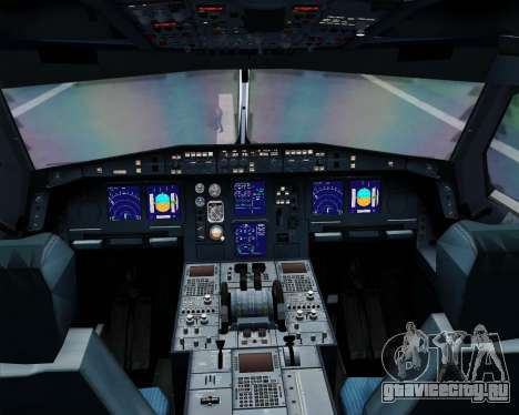 Airbus A330-300 SAS (Star Alliance Livery) для GTA San Andreas салон