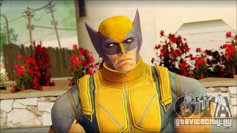 Wolverine Deadpool The Game Cable для GTA San Andreas третий скриншот