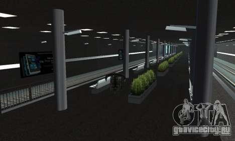 Новое метро в Сан-Фиерро для GTA San Andreas четвёртый скриншот