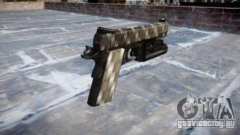 Пистолет Kimber 1911 Carbon Fiber для GTA 4 второй скриншот