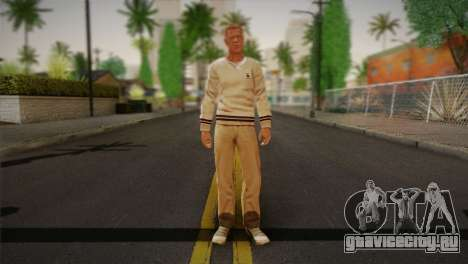 Frank Sunderland From Silent Hill: The Room для GTA San Andreas