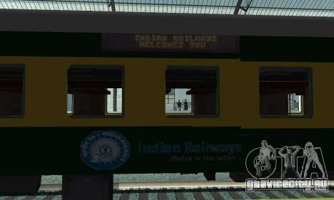 Garib Rath Express для GTA San Andreas вид сзади