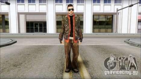 Young Bikerman Skin для GTA San Andreas