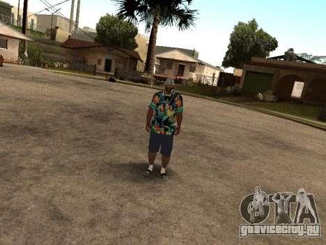Гавайская рубашка как у Макса Пейна для GTA San Andreas четвёртый скриншот