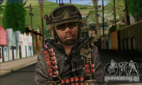 Task Force 141 (CoD: MW 2) Skin 10 для GTA San Andreas третий скриншот