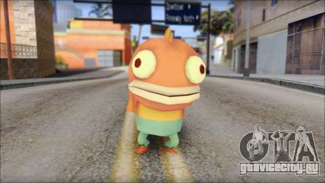 Boranfish from Sponge Bob для GTA San Andreas