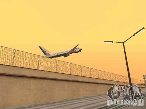 Boeing 777-2Q8ER Orenair Airlines для GTA San Andreas вид справа