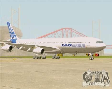 Airbus A340-311 House Colors для GTA San Andreas вид слева
