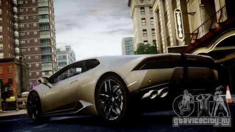 Lamborghini Huracan LP850-4 2014 Wheelsandmore для GTA 4 вид изнутри