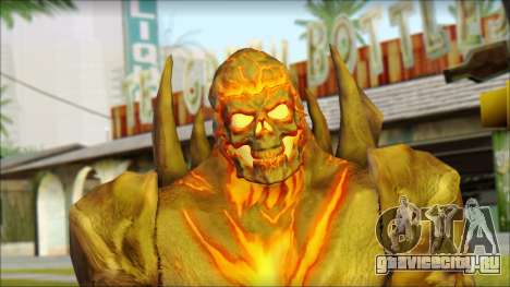 Dark Kahn from MK vs DC для GTA San Andreas третий скриншот