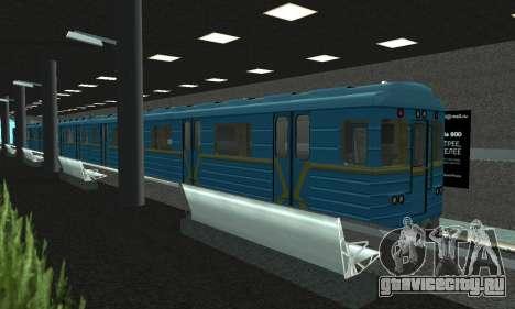 Новое метро в Сан-Фиерро для GTA San Andreas второй скриншот
