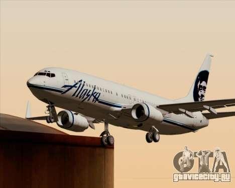 Boeing 737-890 Alaska Airlines для GTA San Andreas колёса