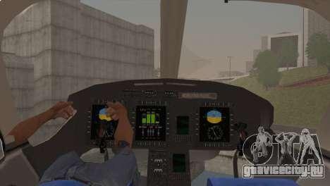 Bell 429 v1 для GTA San Andreas вид справа