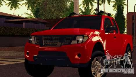 Nissan Frontier 2013 для GTA San Andreas