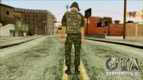 Морской пехотинец ВСУ v1 для GTA San Andreas