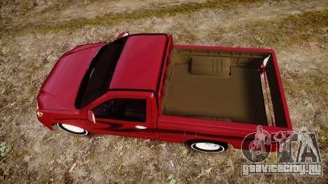 Toyota Hilux 2014 для GTA 4 вид справа