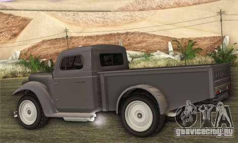 Bravado Duneloader Classic 1.0 (HQLM) для GTA San Andreas вид слева