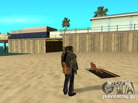 Новые коврики на пляже для GTA San Andreas четвёртый скриншот