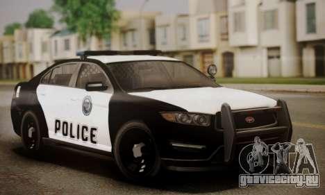 Vapid Police Interceptor from GTA V для GTA San Andreas