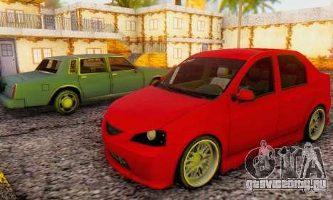 Dacia Logan B-61 для GTA San Andreas