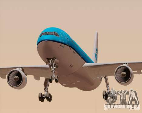Airbus A330-300 KLM Royal Dutch Airlines для GTA San Andreas двигатель