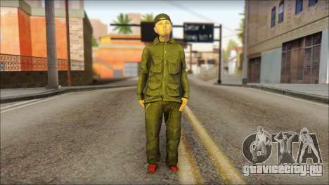 Fred Durst from Limp Bizkit v2 для GTA San Andreas