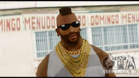 MR T Skin v4 для GTA San Andreas третий скриншот