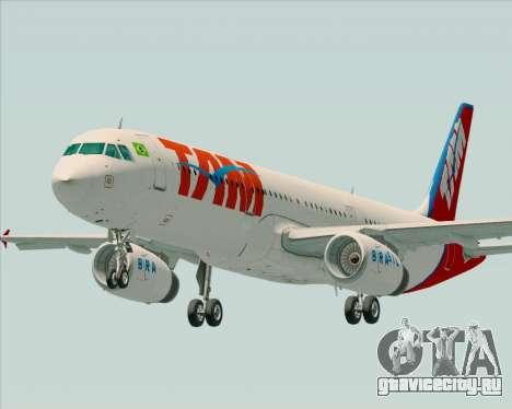 Airbus A321-200 TAM Airlines для GTA San Andreas