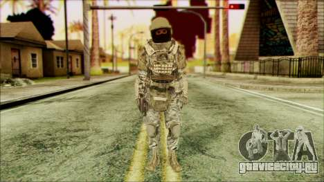 Рейнджер (CoD: MW2) v3 для GTA San Andreas
