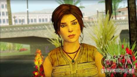 Tomb Raider Skin 15 2013 для GTA San Andreas третий скриншот