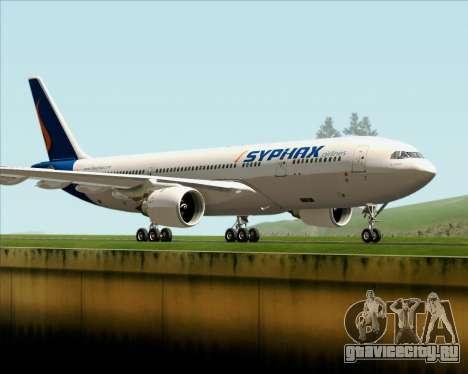 Airbus A330-200 Syphax Airlines для GTA San Andreas вид слева