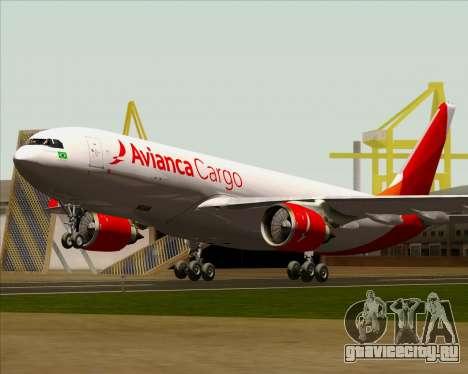 Airbus A330-243F Avianca Cargo для GTA San Andreas