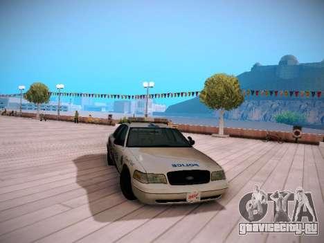 Ford Crown Victoria Toronto Police Service для GTA San Andreas