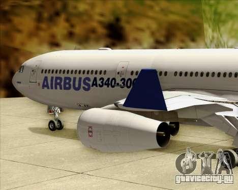 Airbus A340-311 House Colors для GTA San Andreas вид сверху