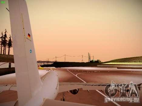 Airbus A310 MRTT Luftwaffe (German Air Force) для GTA San Andreas вид сзади