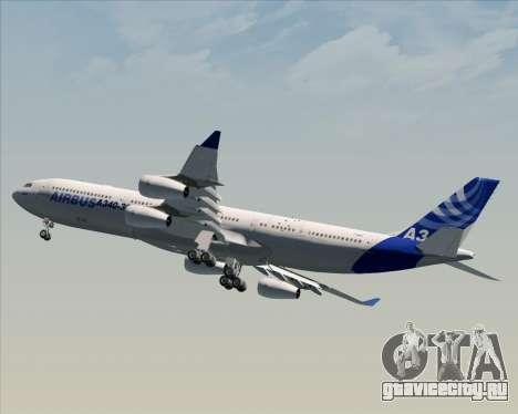 Airbus A340-311 House Colors для GTA San Andreas