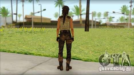 Tomb Raider Skin 15 2013 для GTA San Andreas второй скриншот
