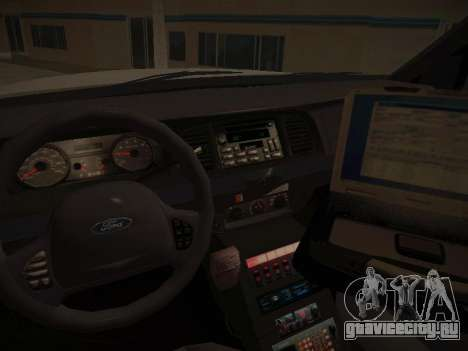 Ford Crown Victoria Toronto Police Service для GTA San Andreas вид сбоку