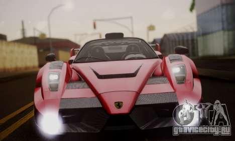 Ferrari Gemballa MIG-U1 для GTA San Andreas вид сверху