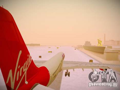 Airbus A340-300 Virgin Atlantic для GTA San Andreas