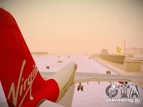 Airbus A340-300 Virgin Atlantic для GTA San Andreas